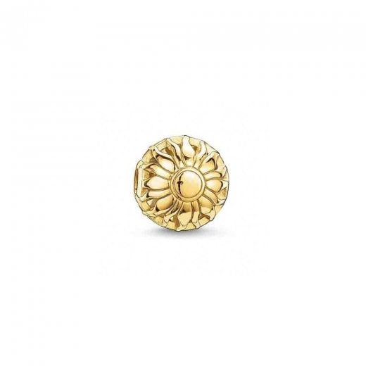 Thomas Sabo 18ct Yellow Gold Plated Sunrise Karma Bead