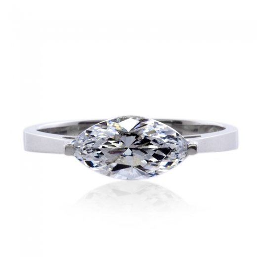 Carat* Magnificent Marquise in White Gold