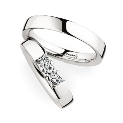Matching Pair Plain Wedding Rings