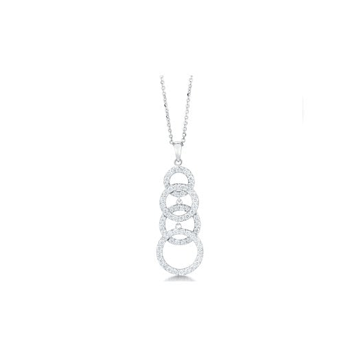 Clearwater Diamonds Fancy Diamond Set Pendant With Chain