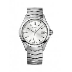 Gent's Stainless Steel Wave Watch