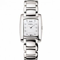 Ladies Dot Diamond Set Stainless Steel Brasilia Watch