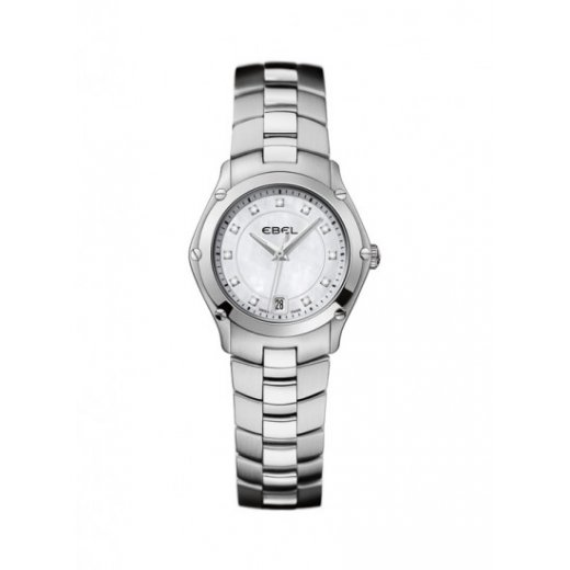 Ebel Ladies Dot Diamond Set Stainless Steel Classic Sport Watch