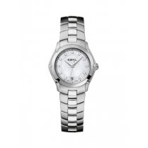 Ladies Dot Diamond Set Stainless Steel Classic Sport Watch