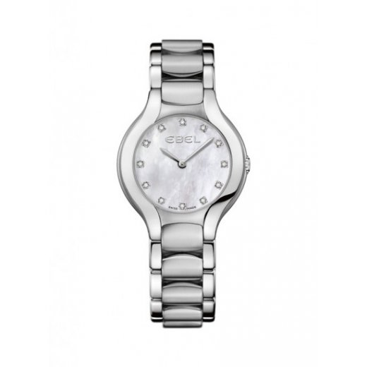 Ebel Ladies Dot Diamond Stainless Steel Beluga Watch