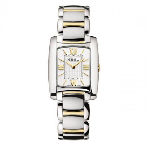 Ebel Ladies Stainless Steel And Gold Brasilia Watch