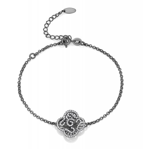 Fei Liu Fine Jewellery Mini Cascade Bracelet in Black