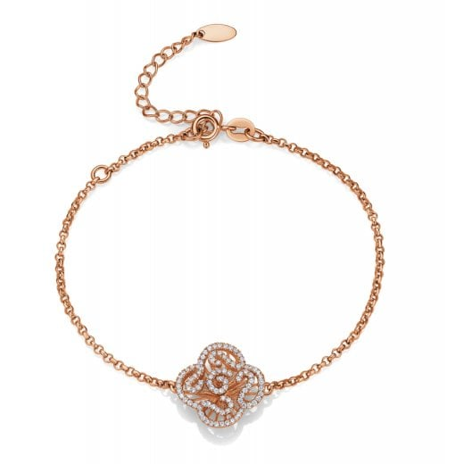 Fei Liu Fine Jewellery Mini Cascade Bracelet in Rose