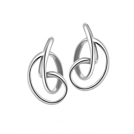 Fei Liu Fine Jewellery Serenity Stud Earrings in Silver