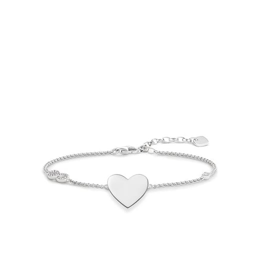 Thomas Sabo Glam And Soul Heart With Infinity Bracelet