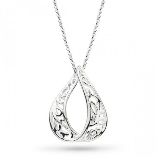 Kit Heath Blossom Flourish Tear Loop Necklace