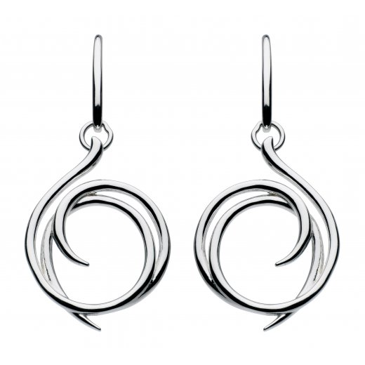 Kit Heath Helix Wrap Drop Earrings