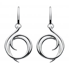 Helix Wrap Drop Earrings