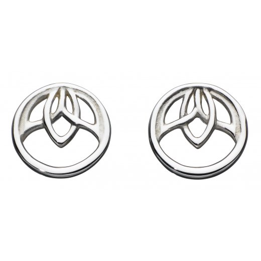 Kit Heath Lotus Stud Earrings