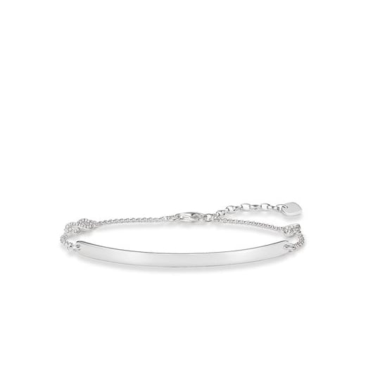 Thomas Sabo Love Bridge CZ Infinity Braclet