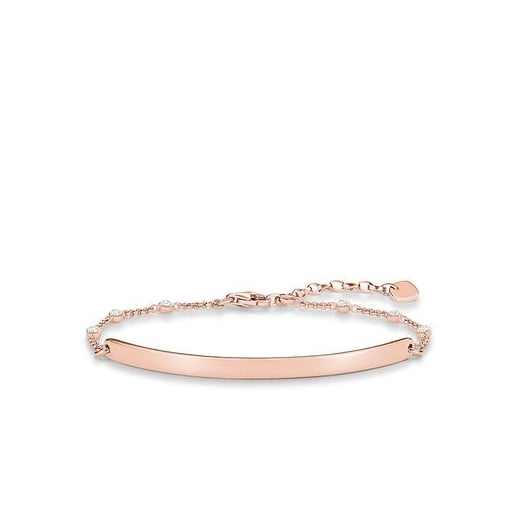 Thomas Sabo Love Bridge Rose CZ Dot Bracelet