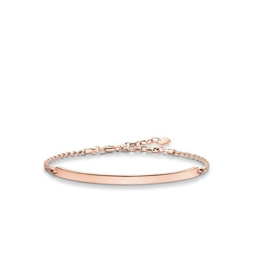 Thomas Sabo Love Bridge Rose Gold Bracelet