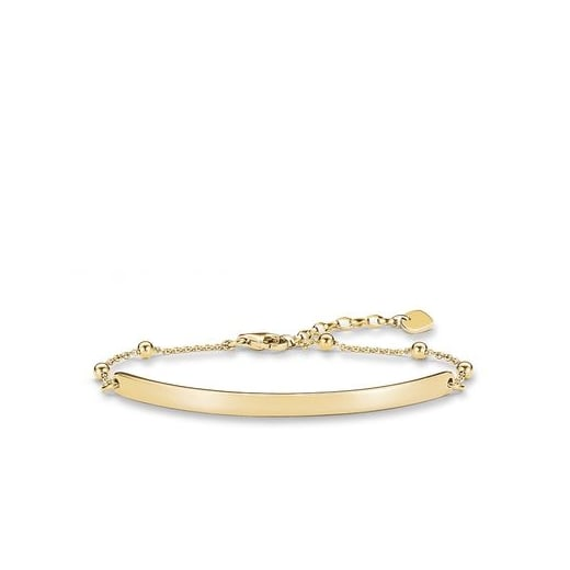Thomas Sabo Love Bridge Yellow Ball Bracelet