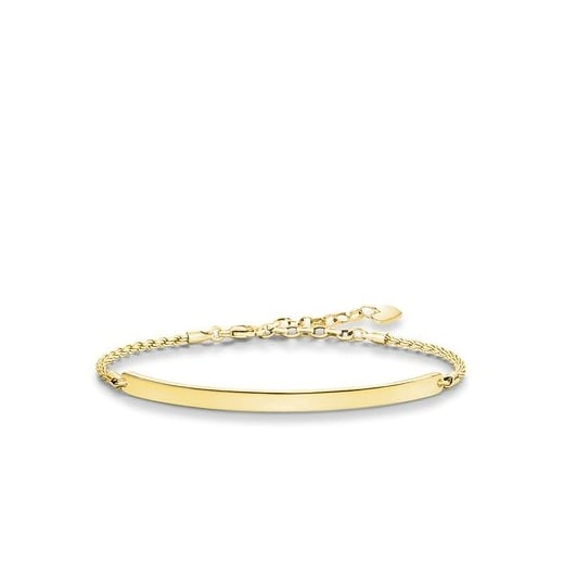 Thomas Sabo Love Bridge Yellow Gold Bracelet