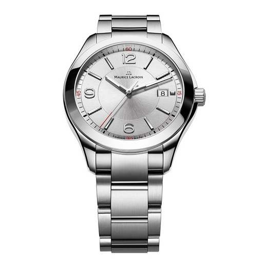 Maurice Lacroix Gents Stainless Steel Date Miros
