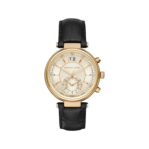 Michael Kors Watches Michael Kors Ladies' Gold Sawyer Chronograph Watch