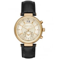 Michael Kors Ladies' Gold Sawyer Chronograph Watch