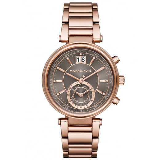 Michael Kors Watches Michael Kors Ladies' Rose Sawyer Chronograph Watch