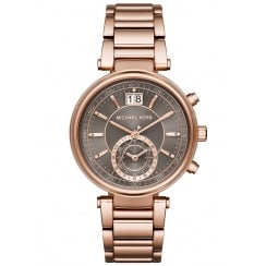 Michael Kors Ladies' Rose Sawyer Chronograph Watch
