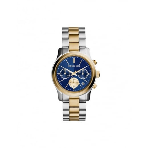 Michael Kors Watches Michael Kors Ladies' Two Toned Runaway Chronograph Watch