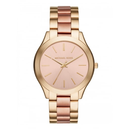 Michael Kors Watches Michael Kors Ladies' Two Toned Slim Runaway Watch