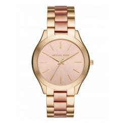 Michael Kors Ladies' Two Toned Slim Runaway Watch