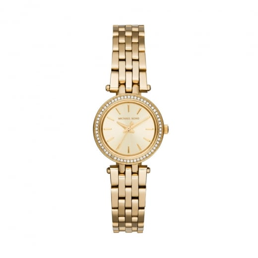 Michael Kors Watches Micheal Kors Ladies' Gold Mini Darci Watch