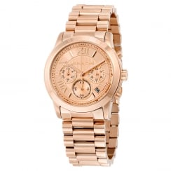 Micheal Kors Ladies' Rose Cooper Chronograph Watch