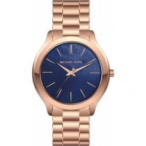 Micheal Kors Ladies' Rose Slim Runaway Watch
