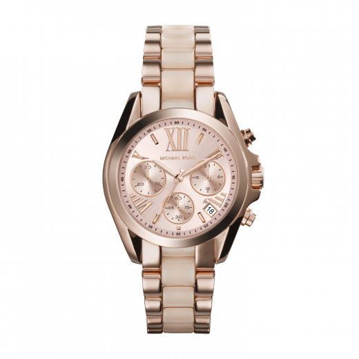 Michael Kors Watches Mini Bradshaw Rose Ladies Watch