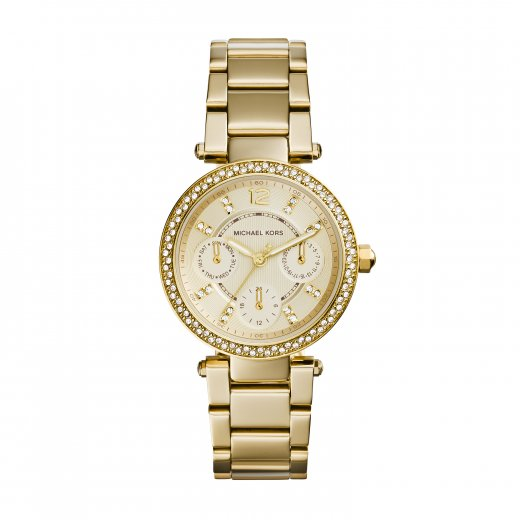 Michael Kors Watches Mini Parker Gold Ladies Watch