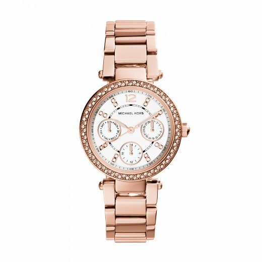 Michael Kors Watches Mini Parker Rose Ladies Watch