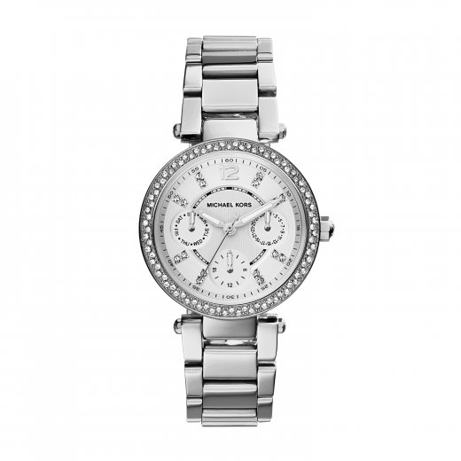 Michael Kors Watches Mini Parker Stainless Steel Ladies Watch