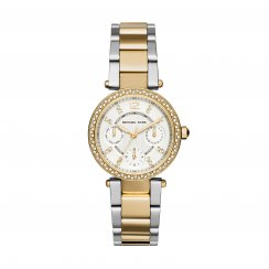Mini Parker Two-Tone Gold & Stainless Steel Ladies Watch