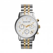 Ritz Two-Tone Stainless Steel/ Gold Ladies Watch