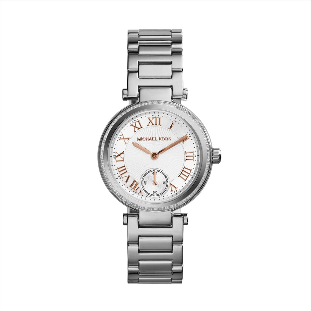 d3518eaeb22 Skylar Stainless Steel Ladies Watch - Michael Kors - Clearwater
