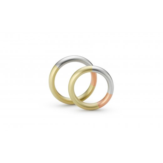 Niessing Tricolour Wedding Ring