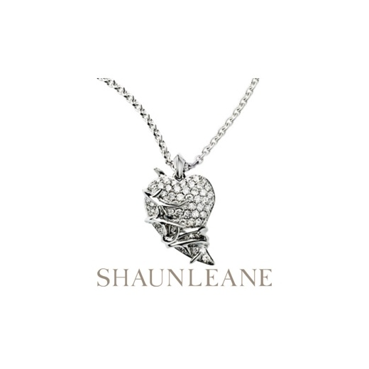 Shaun Leane Diamond Thorned Heart Pendant