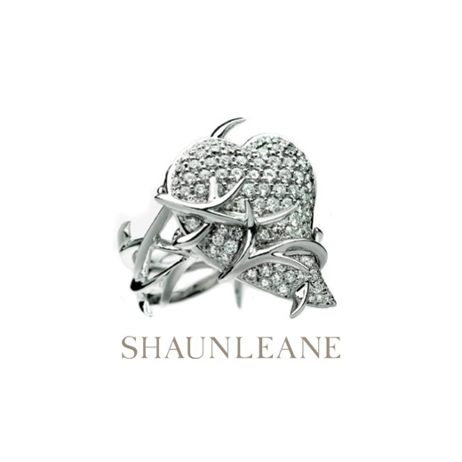 Shaun Leane Diamond Thorned Heart Poison Ring