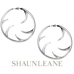 Silver Multi Cat Claw Hoop Earrings