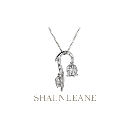 Shaun Leane Small Diamond Maybell Pendant