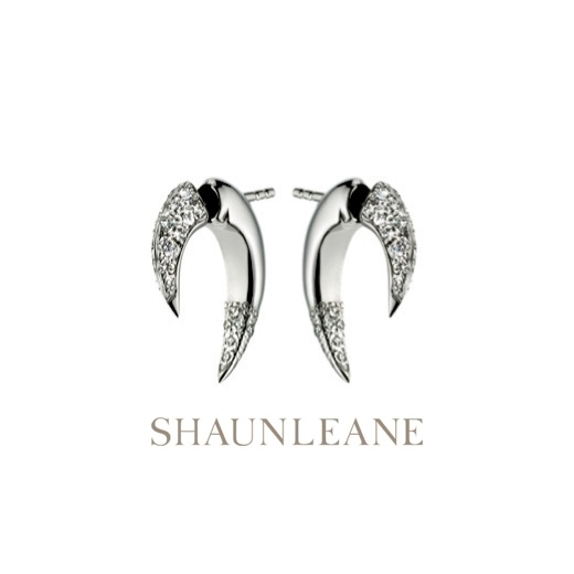 Shaun Leane Small Diamond Talon Earrings