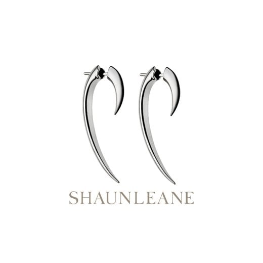 Shaun Leane Sterling Silver Hook Earrings - Size 1