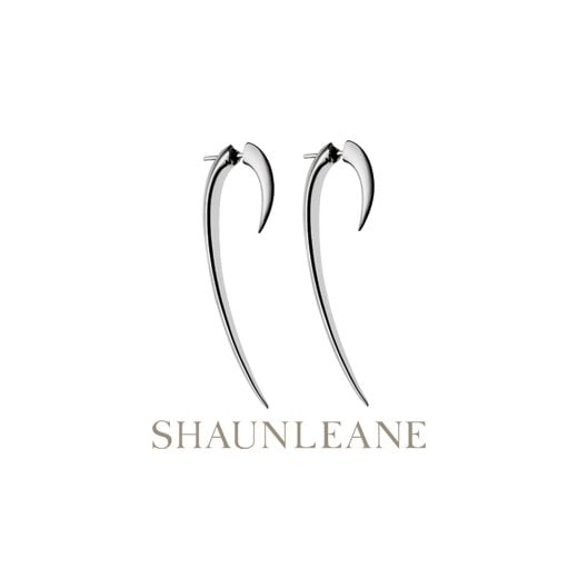 Shaun Leane Sterling Silver Hook Earrings - Size 2