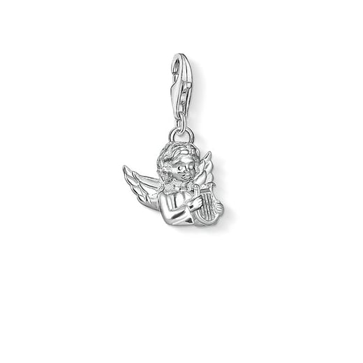 Thomas Sabo Silver Angel with Lyre Charm